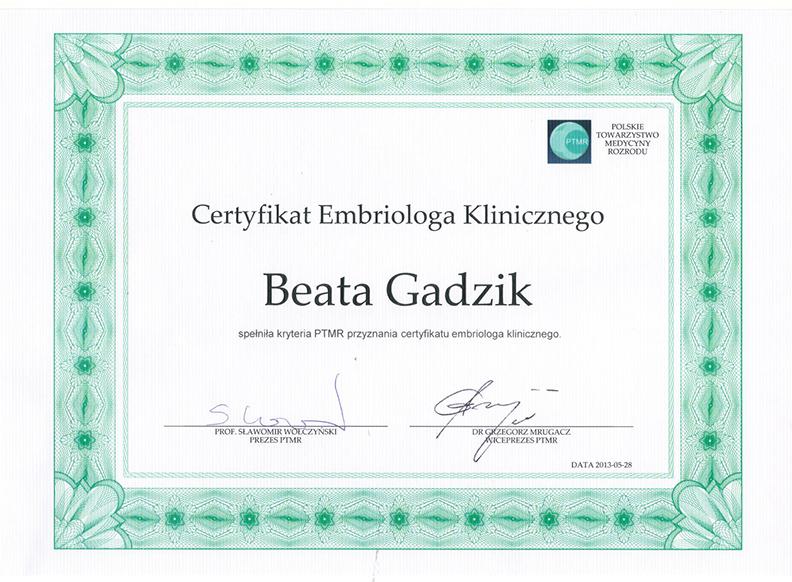 certyfikat-Beata