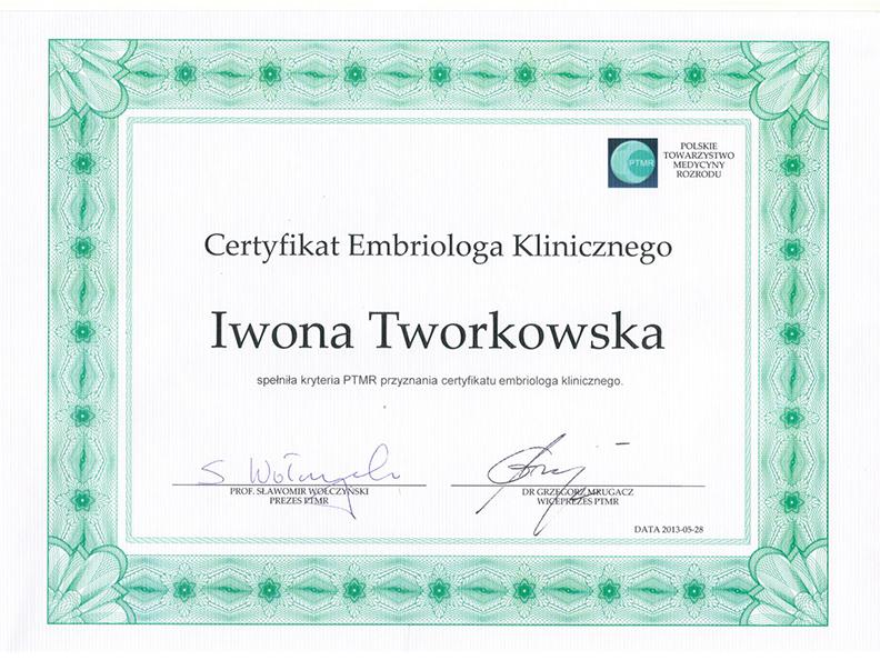 certyfikat-Iwona